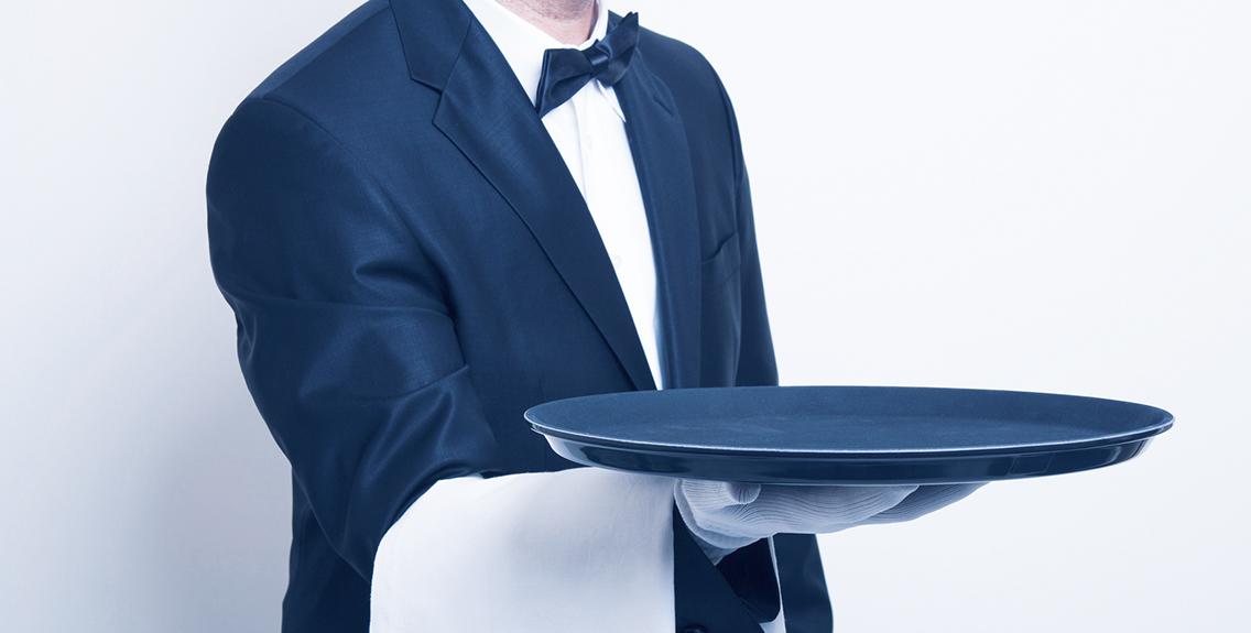 yemek sunmak